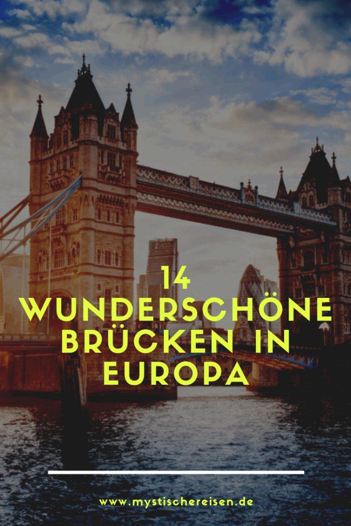 14 wunderschöne Brücken in Europa