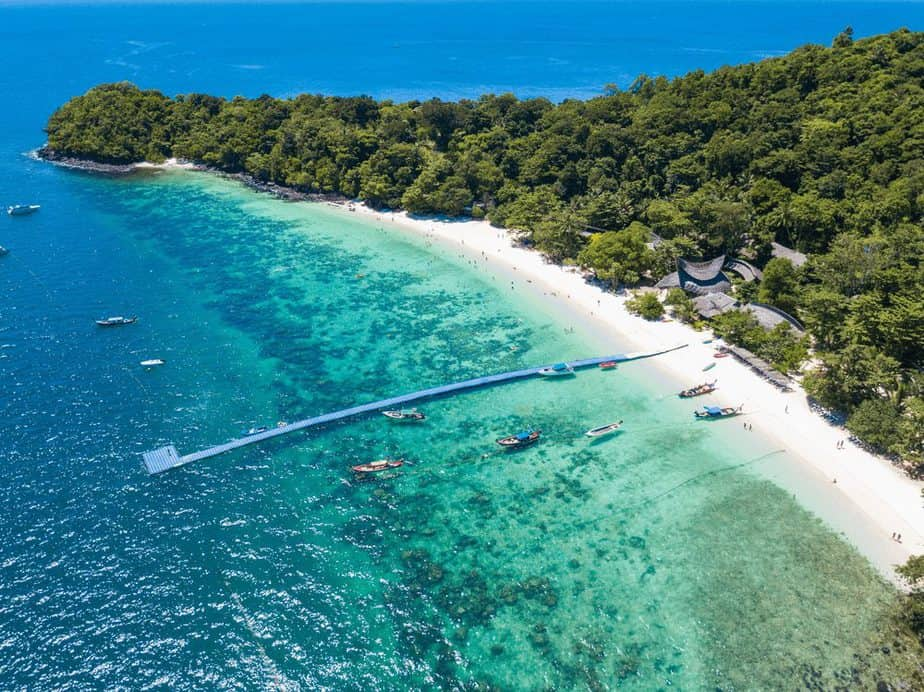 Banana Beach, Insel Koh Hey (Coral), Phuket, Thailand