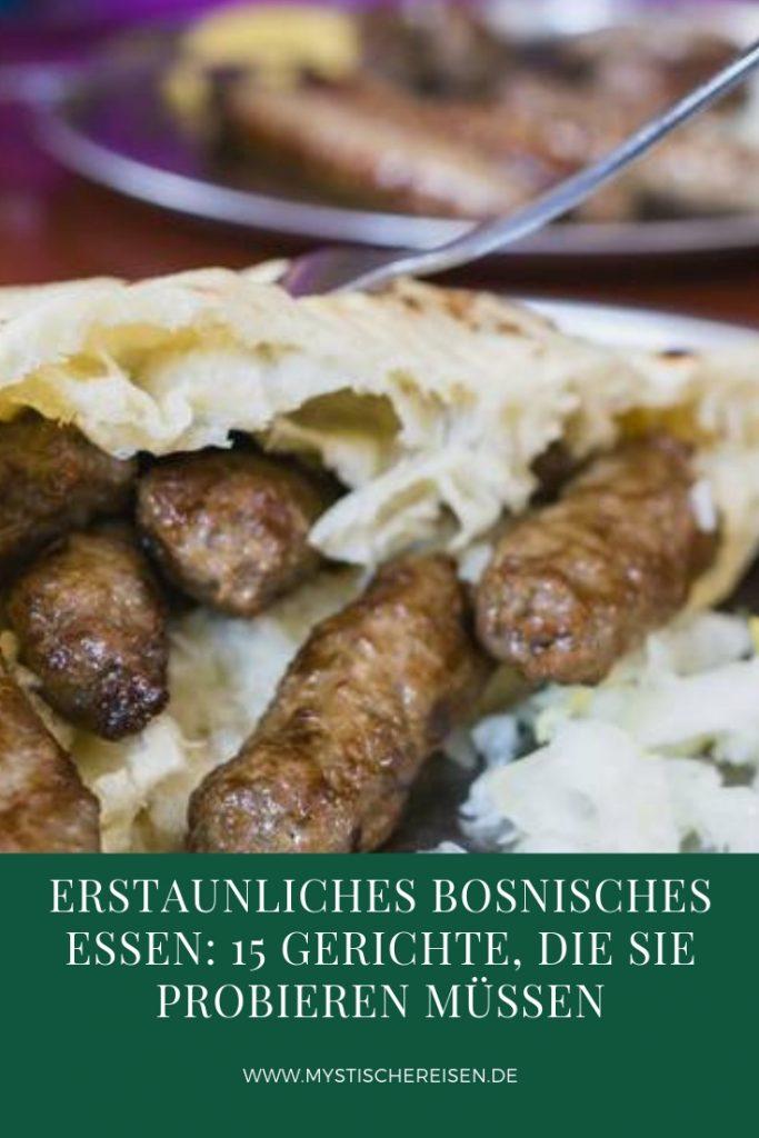 Bosnisches Essen