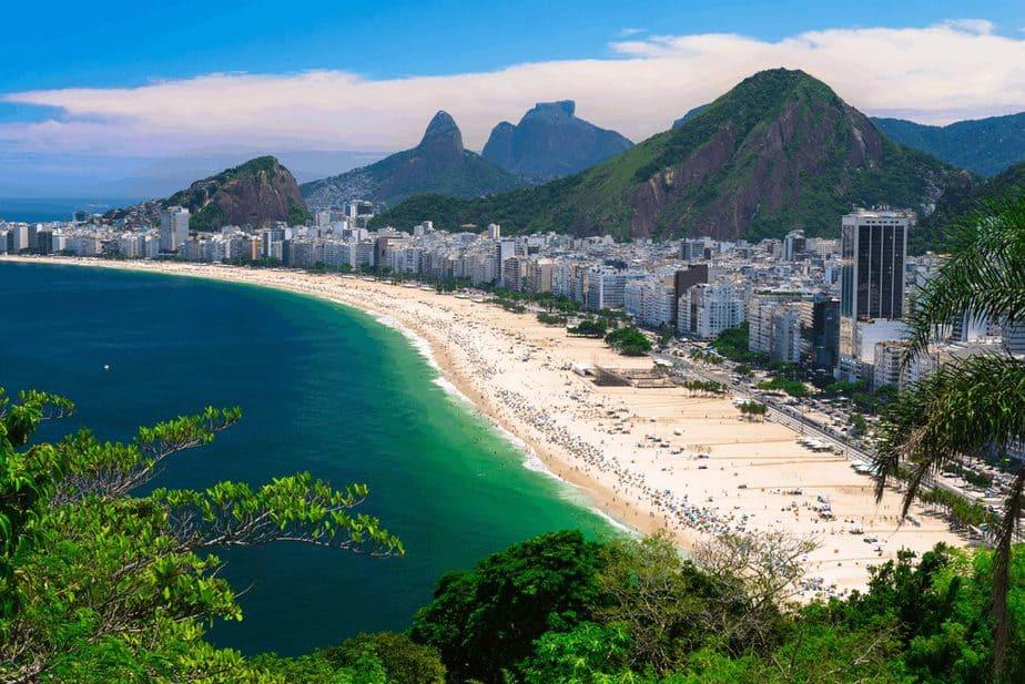 Copacabana Beach, Brasilien