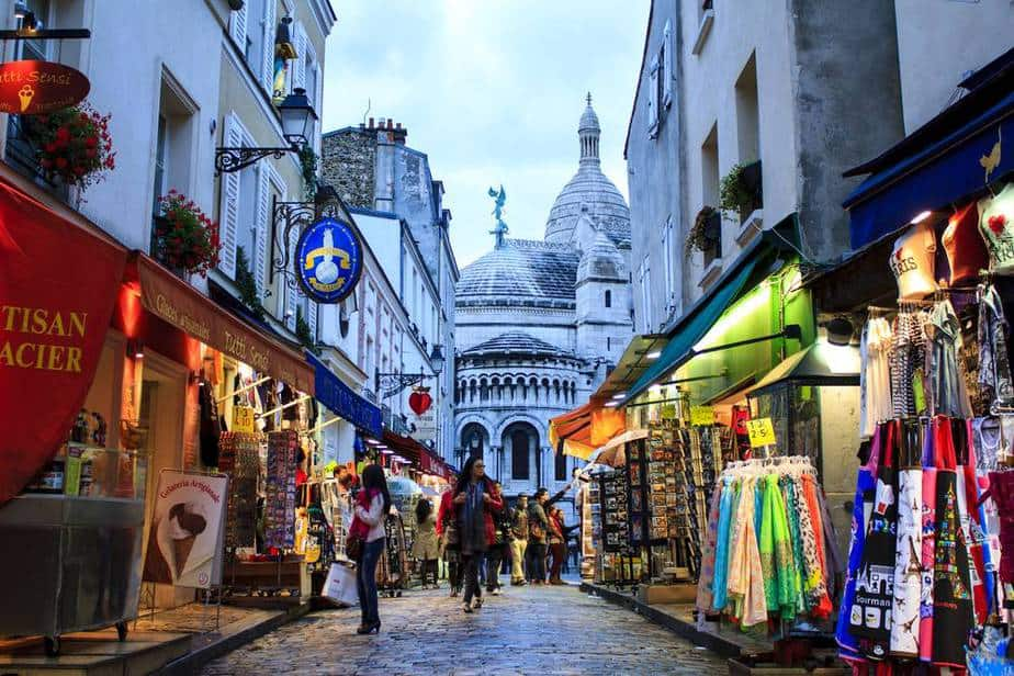Einkaufen Paris