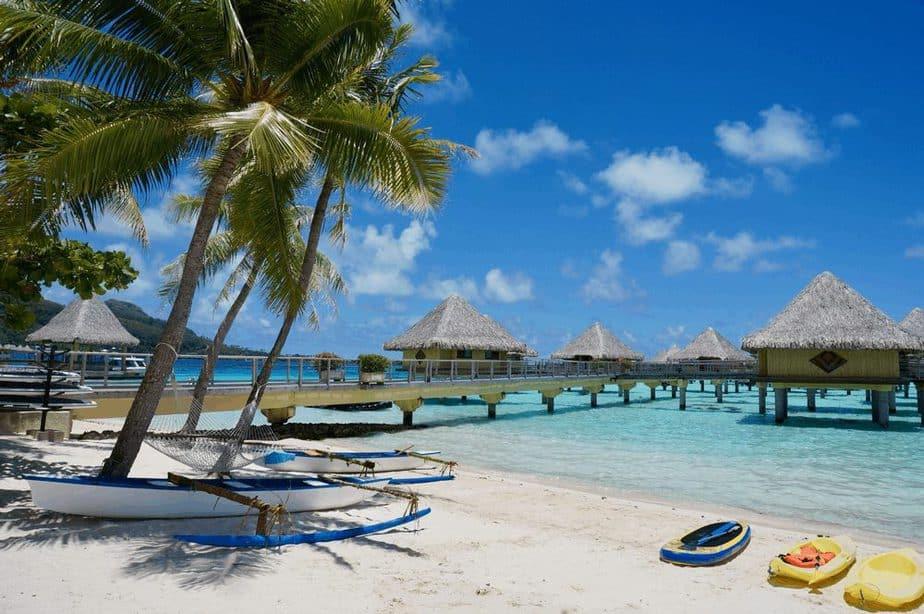 Matira, Bora Bora, Französisch-Polynesien