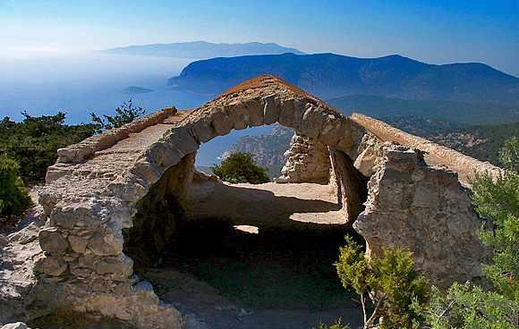 Monolithos-Festung
