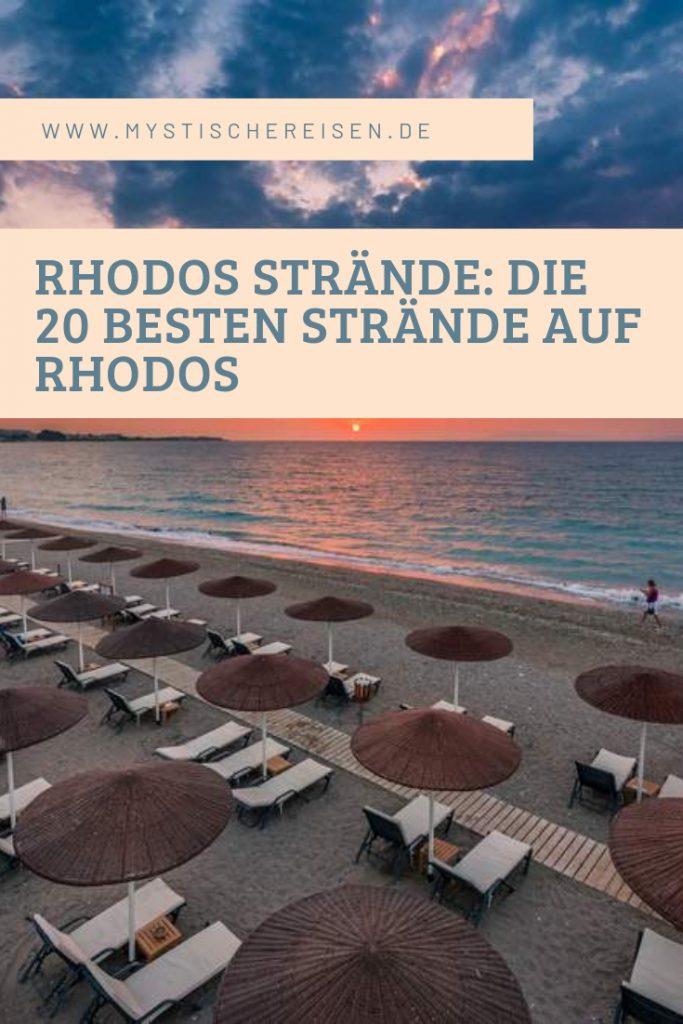 Rhodos Strände