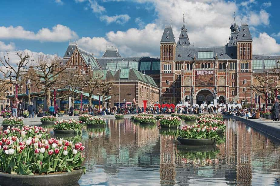 Tulpenfestival in Amsterdam