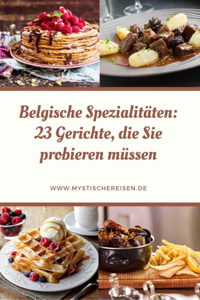 Belgische Spezialitäten