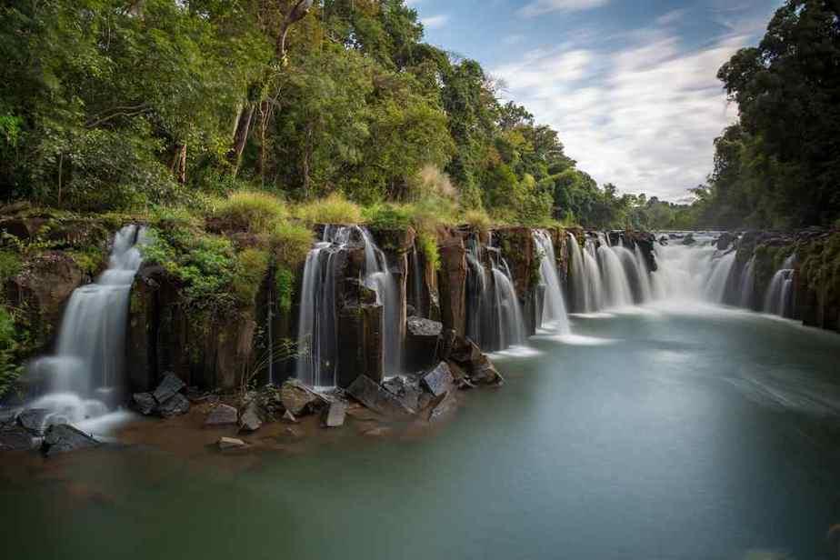 Bolaven-Wasserfall