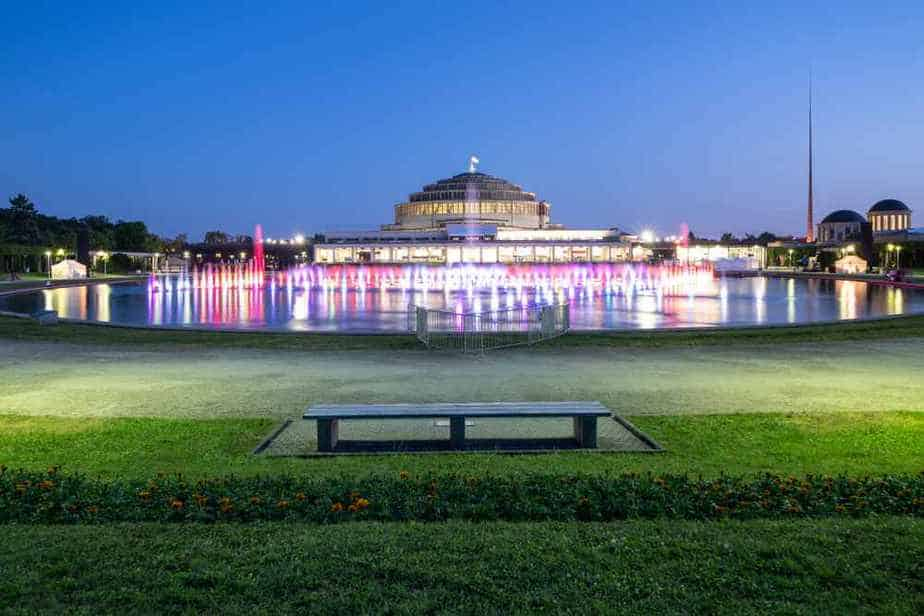 Breslaus Multimedia-Brunnen