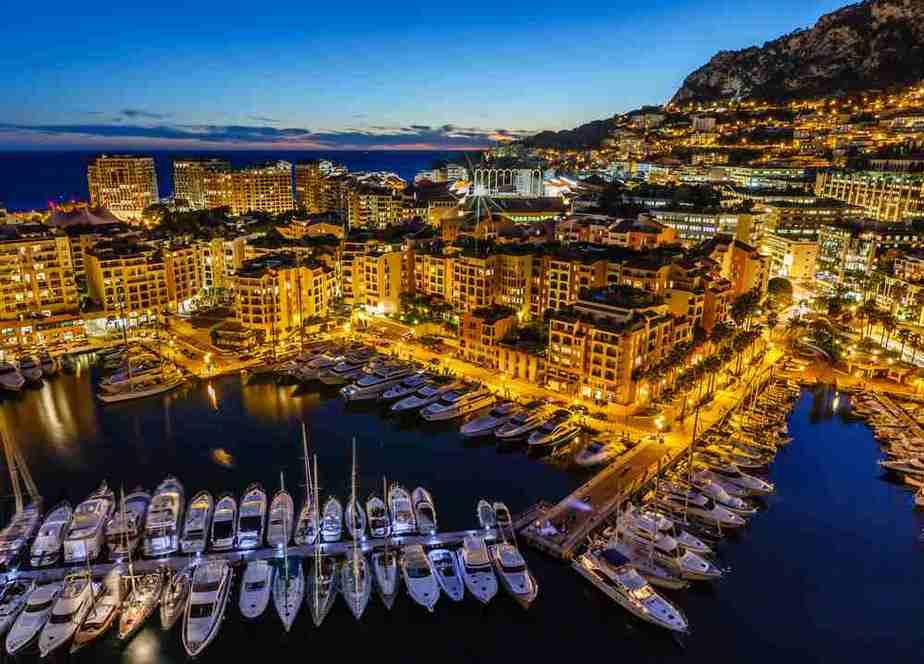 Der Hafen von Monte-Carlo - Monaco Sehenswürdigkeiten