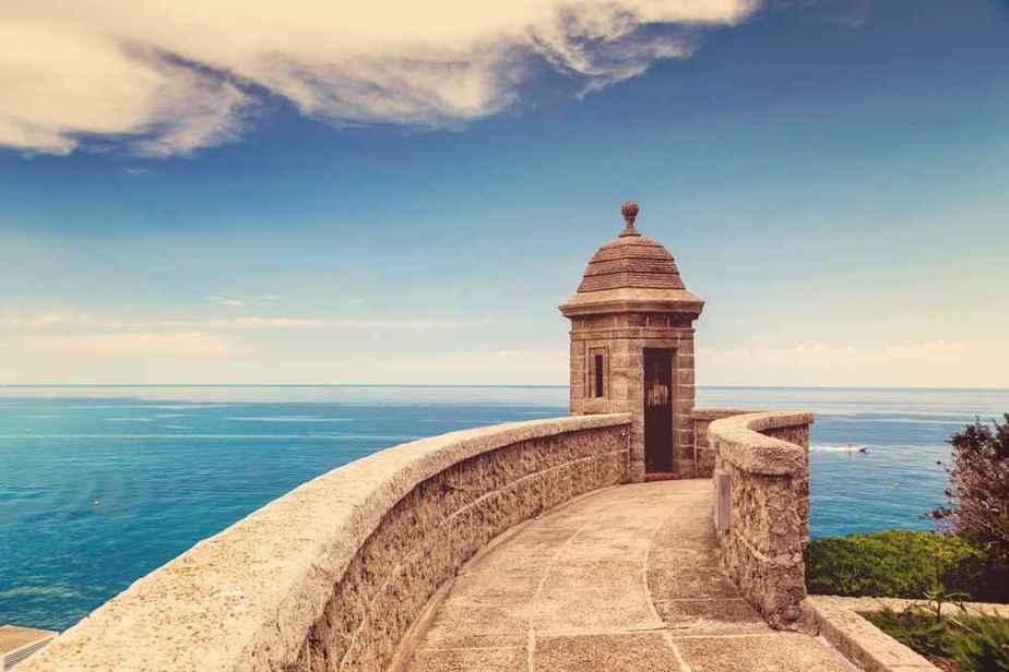 Fort Antoine - Monaco Sehenswürdigkeiten