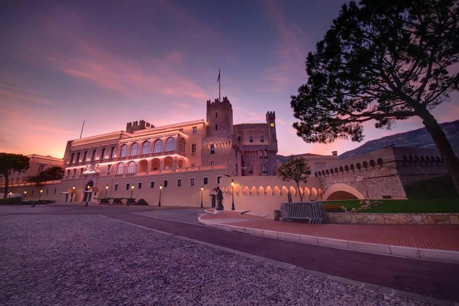 Fürstenpalast in Monaco - Monaco Sehenswürdigkeiten