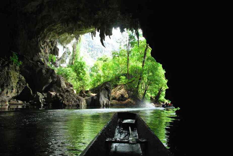 Kong Lor-Höhlen