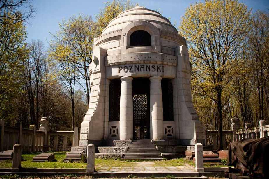 Lodz-Ghetto und der Friedhof