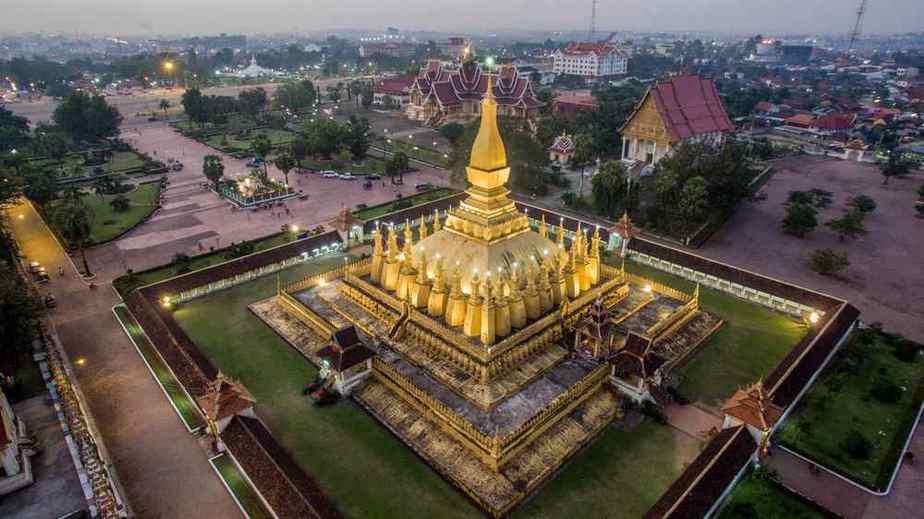 Pha That Luang - Laos Sehenswürdigkeiten