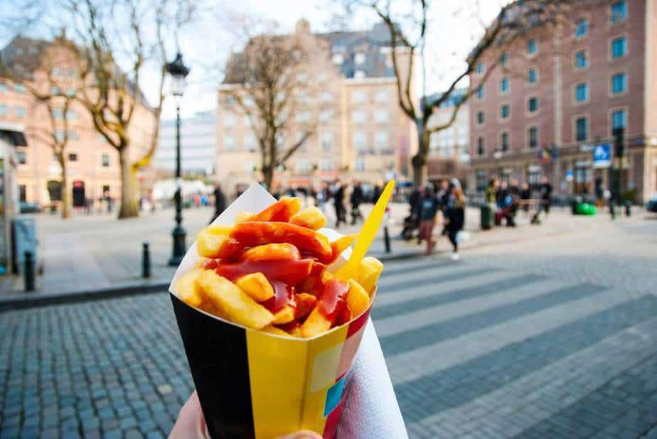 Pommes Belgische - Belgische Spezialitäten