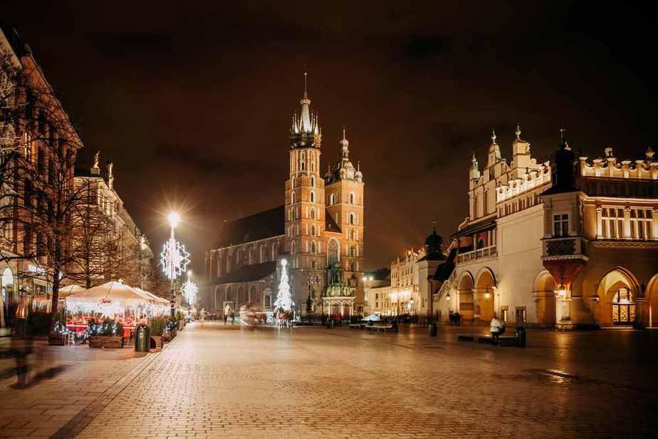 Silvester in Polen