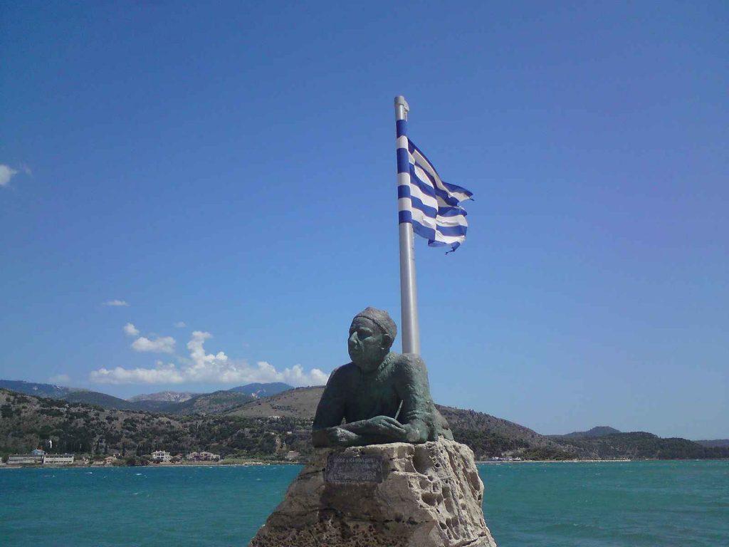 Statue von Nikos Kavvadias