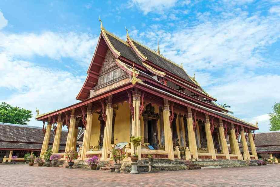 Wat Si Saket - Laos Sehenswürdigkeiten