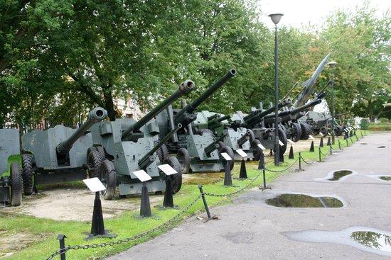 Das polnische Waffenmuseum