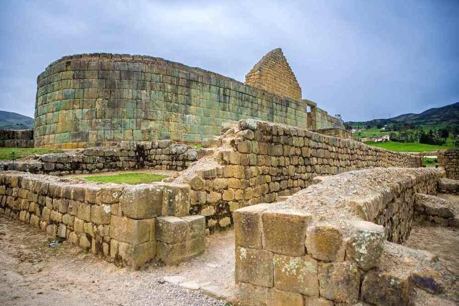 Ingapirca-Inka-Ruinen