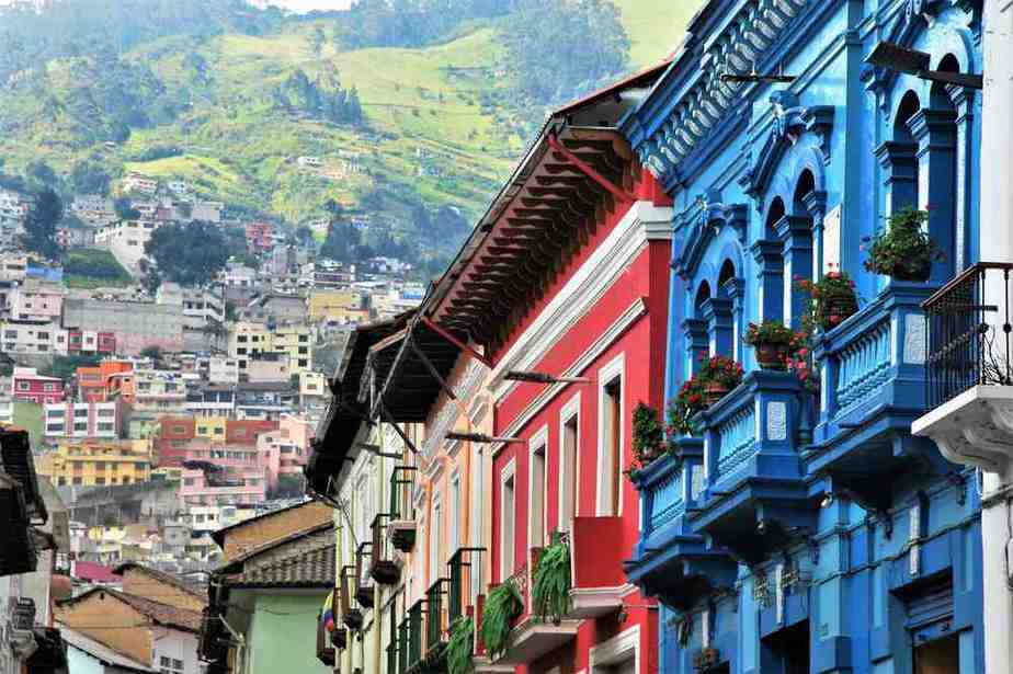 Quito, die Hauptstadt Ecuadors