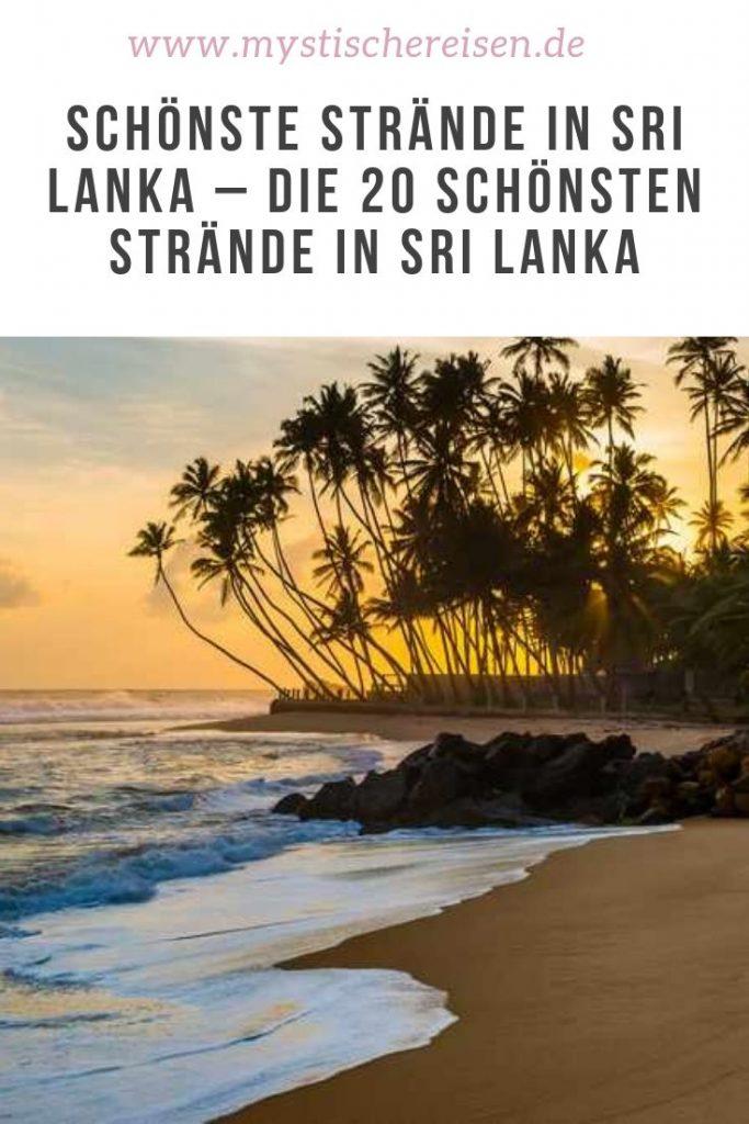 Strände Sri Lanka