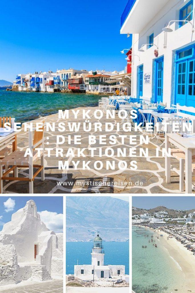 Mykonos Sehenswürdigkeiten: Die Besten Attraktionen In Mykonos