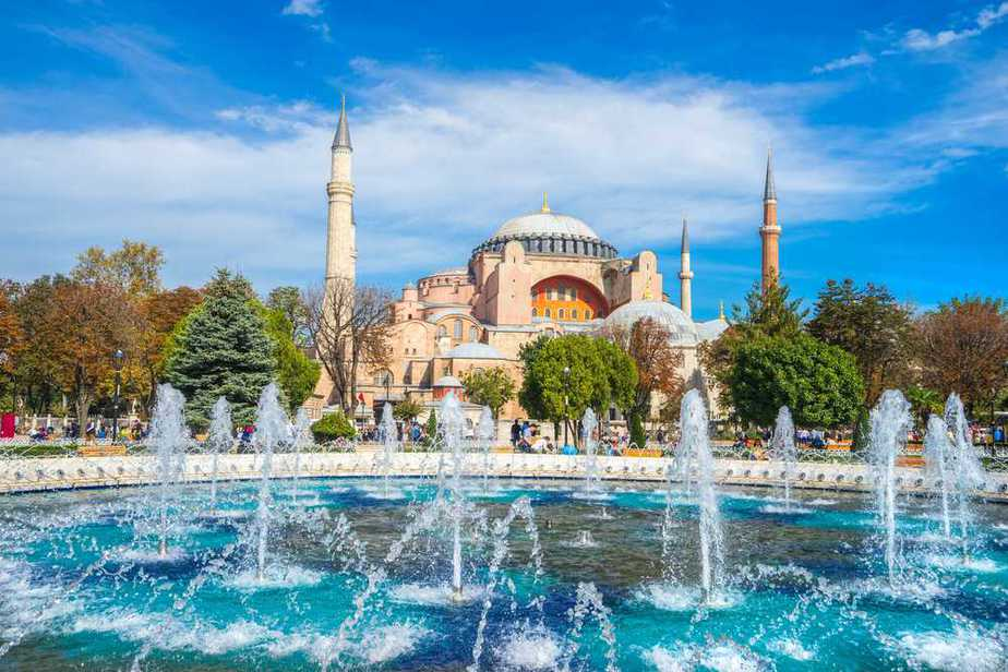 Aya Sofya Türkei Sehenswürdigkeiten