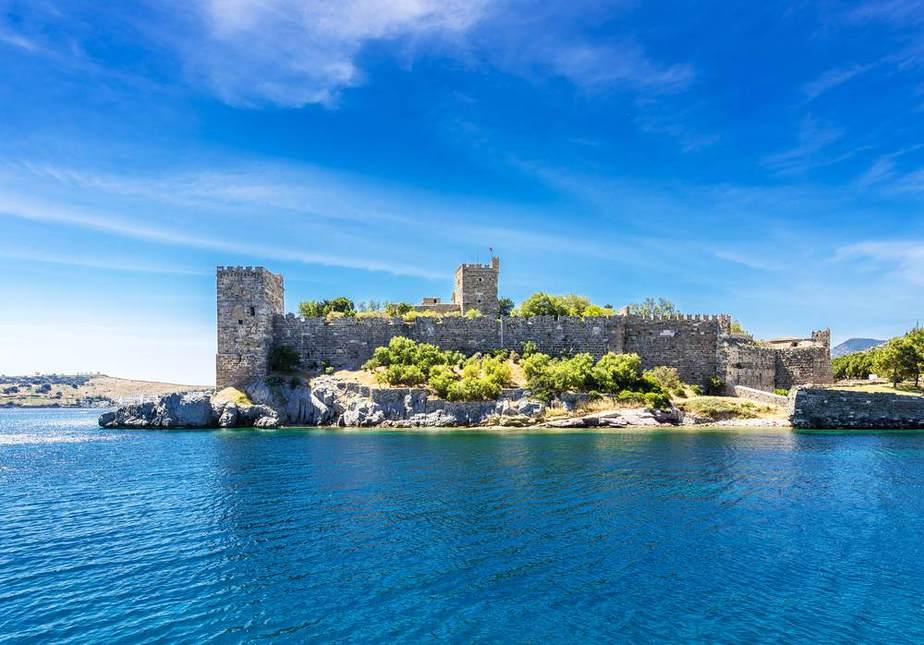 Burg von Bodrum Türkei Sehenswürdigkeiten