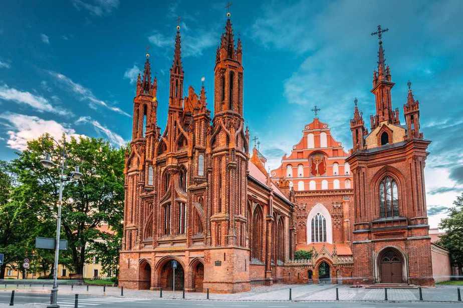 Church of St. Anne (Annenkirche) Vilnius Sehenswürdigkeiten