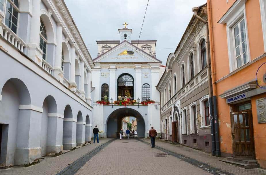 Die Top 15 Vilnius Sehenswürdigkeiten: Gate of Dawn (Tor der Morgenröte) Vilnius Sehenswürdigkeiten