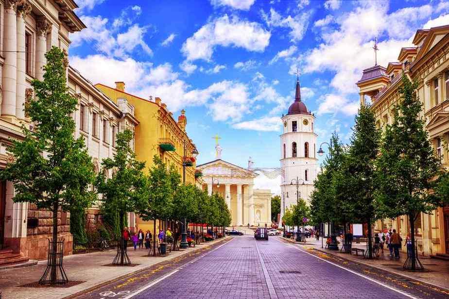 Gediminas Avenue (Gediminas-Allee)