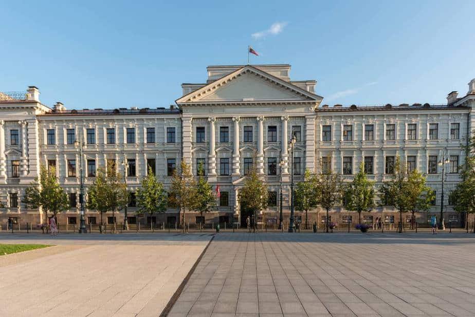 Museum of Occupations and Freedom Fights (Museum der Opfer des Genozids) Vilnius Sehenswürdigkeiten