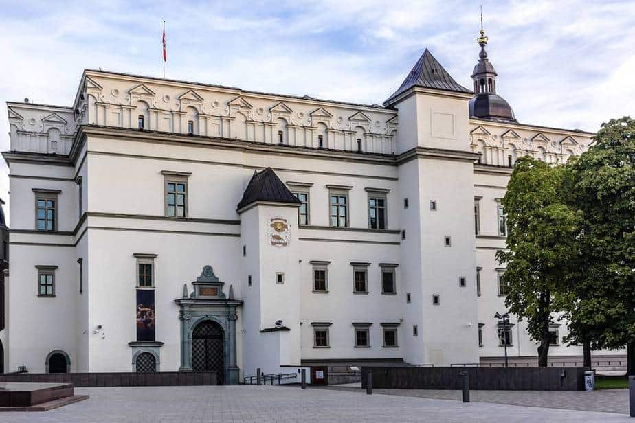 Palace of the Grand Dukes of Lithuania (Herrscherpalast des Großfürstentums Litauen) Vilnius Sehenswürdigkeiten