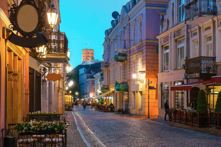Pilies Street (Pilies Straße) Vilnius Sehenswürdigkeiten