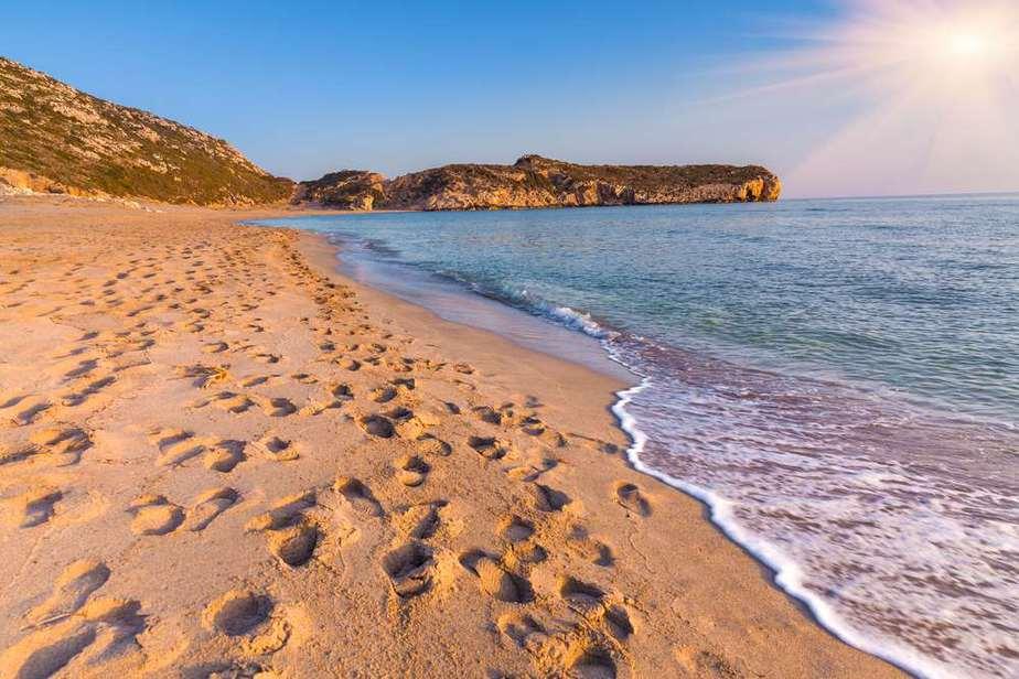 Strand von Patara Türkei Sehenswürdigkeiten