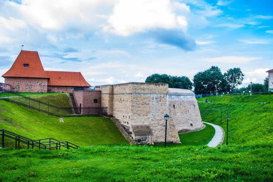 The Bastion of Vilnius City Wall (Die Bastei der Wehrmauer von Vilnius)