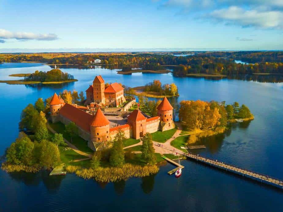Trakai Castle (Schloss Trakai) Vilnius Sehenswürdigkeiten