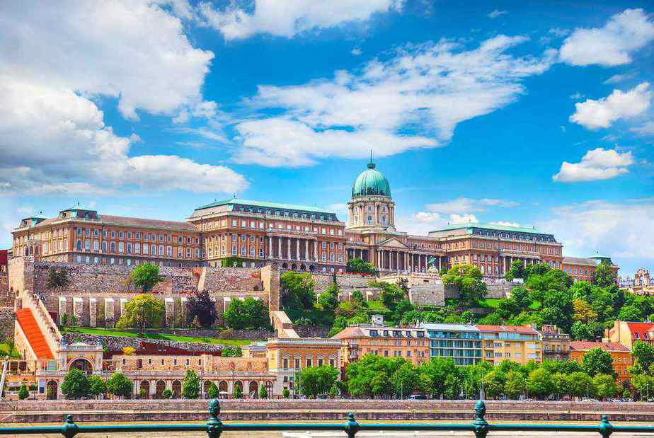 Budapester Burg - Burgpalast
