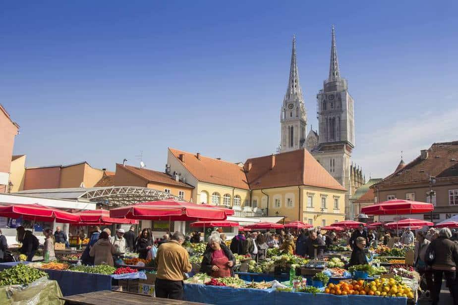 Dolac-Markt  Zagreb Sehenswürdigkeiten: Die 25 besten Attraktionen – 2020