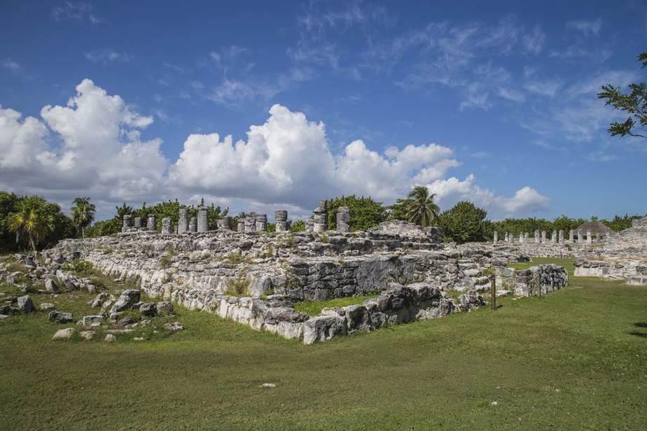 Cancun Sehenswürdigkeiten: El Rey archäologische Stätte