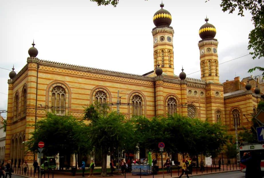 Große Synagoge - Nagy Zsinagóga