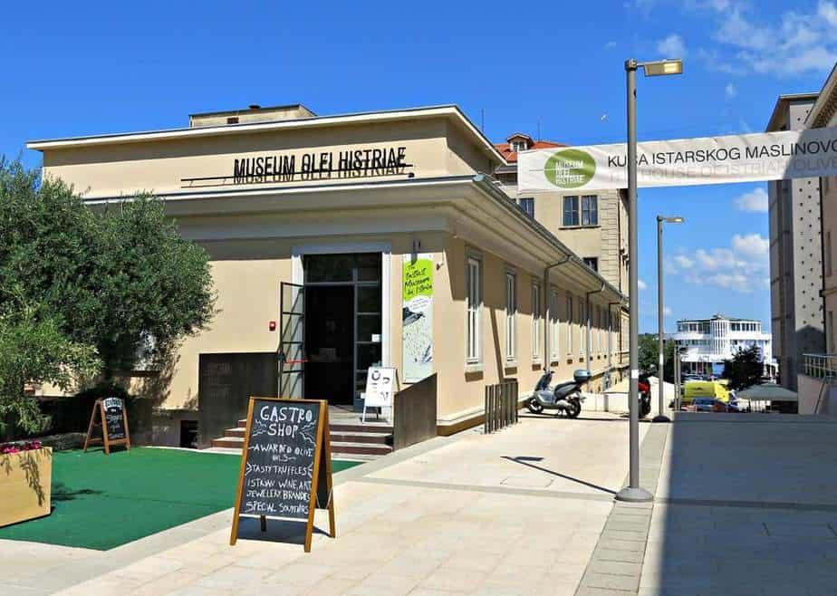 Museum des Olivenöls