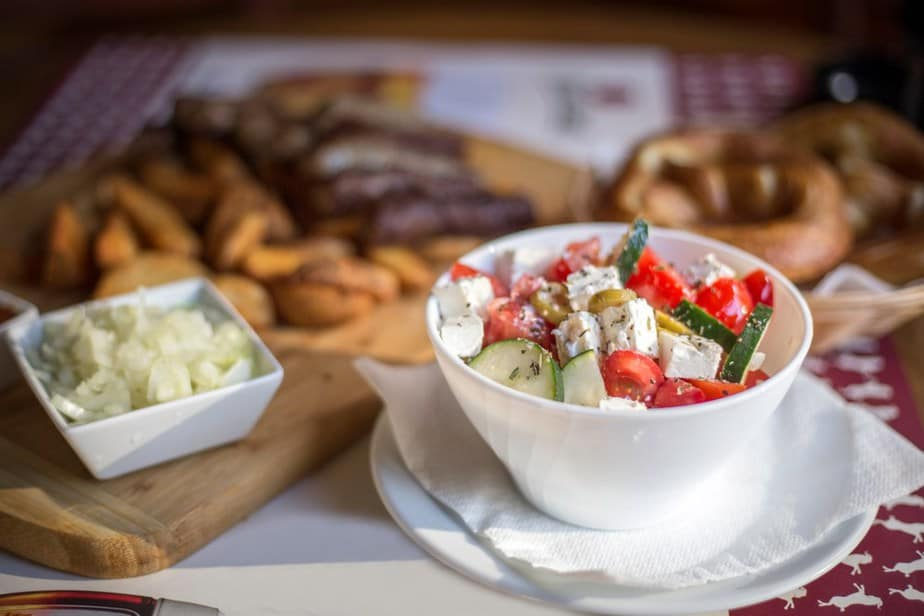 Šopska salata (Schopska-Salat)