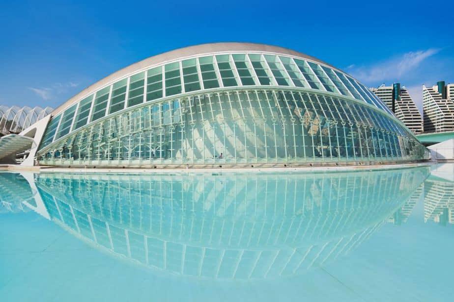 Stadt der Künste und der Wissenschaften, Valencia
