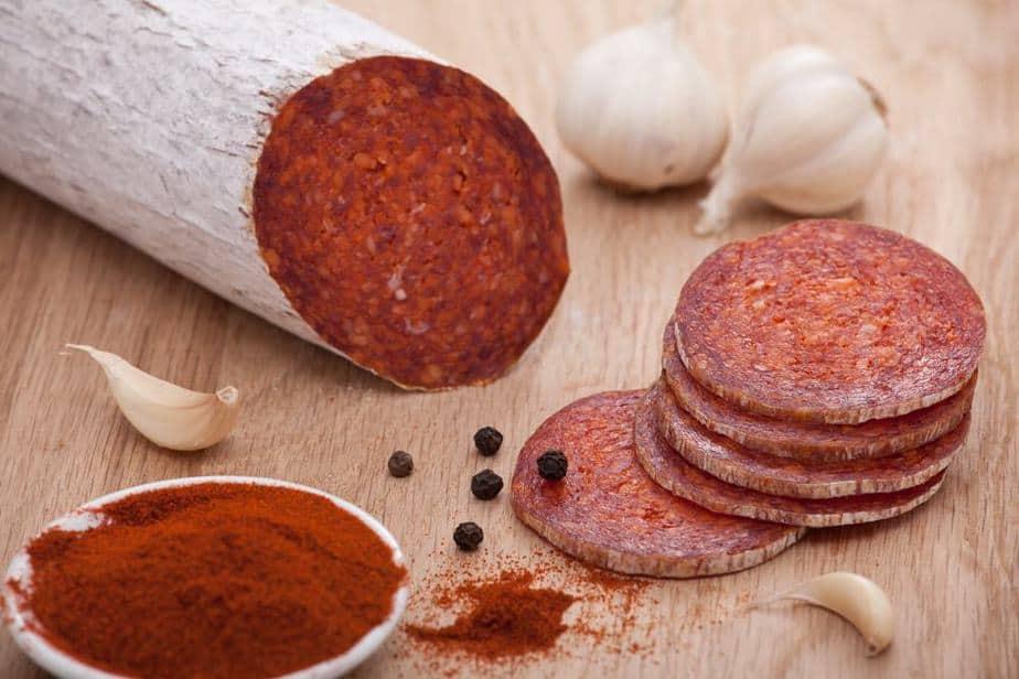 Ungarische Spezialitäten: Téliszalámi - Ungarische Salami