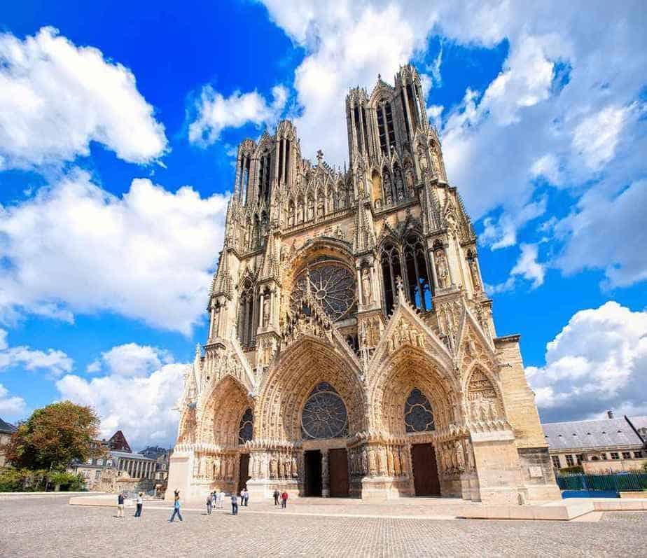 Kathedrale von Reims Französische Sehenswürdigkeiten: Top 20 Attraktionen