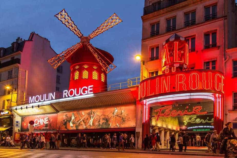 Moulin Rouge Paris Sehenswürdigkeiten: 22 Top Paris Sehenswürdigkeiten