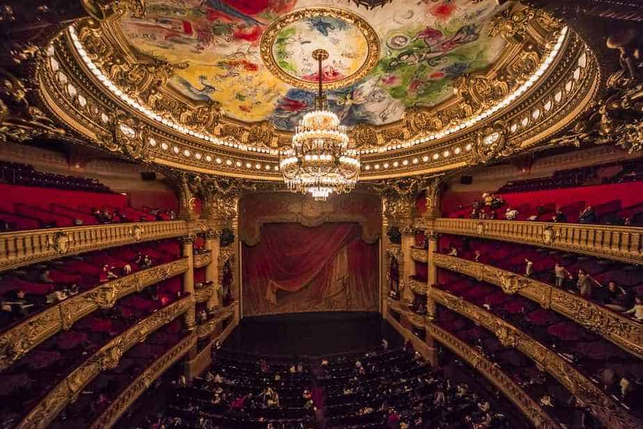 Opéra Garnier Paris Sehenswürdigkeiten: 22 Top Paris Sehenswürdigkeiten