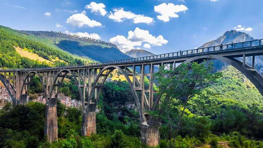 Djurdjevica Tara Brücke
